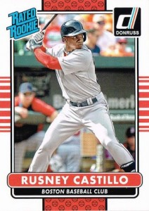 2015 Donruss Baseball Rated Rookie Castillo