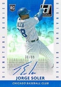 2015 Donruss Baseball Signature Series Soler