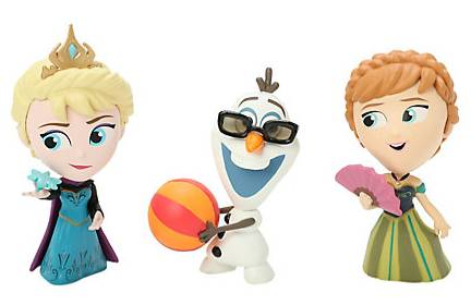 2015 Funko Frozen Mystery Minis Hot Topic Exclusives