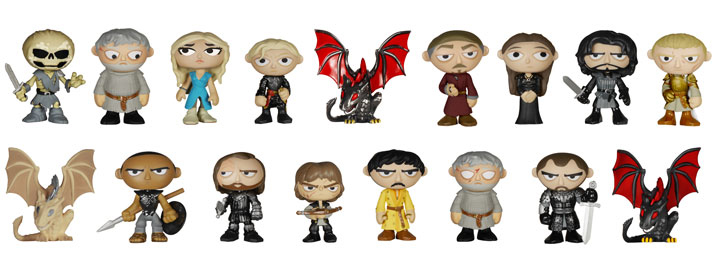 2015 Funko Game of Thrones Mystery Minis Series 2 1