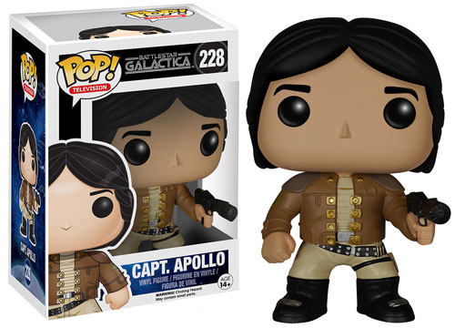2015 Funko Pop Battlestar Galactica 228 Capt Apollo