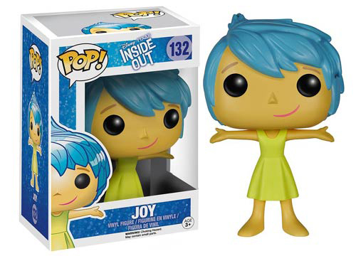 2015 Funko Pop Disney Inside Out 132 Joy