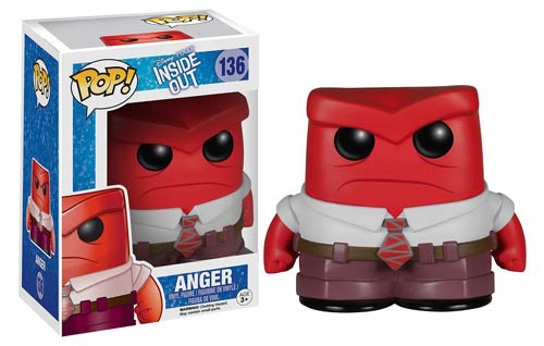2015 Funko Pop Disney Inside Out 136 Anger
