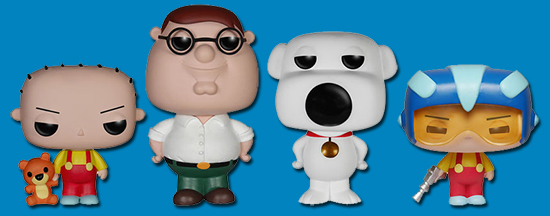 2015 Funko Pop Family Guy Vinyl Figures 1
