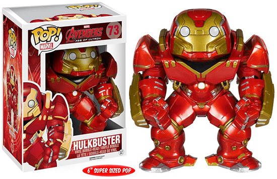 2015 Funko Pop Marvel Avengers Age of Ultron 73 Hulkbuster
