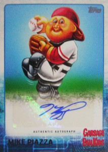 Mike Piazza, Joey Votto Among 2015 Topps Garbage Pail Kids Baseball Autographs 3