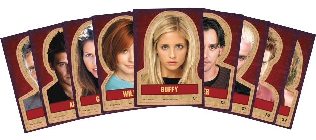 2015 Rittenhouse Buffy the Vampire Slayer Ultimate Collector's Set Trading Cards 3