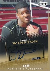 2015 Sage Hit Base Gold Autographs Jameis Winston #A5