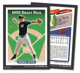 2015 Topps Cardboard Icons Baseball Cards 1