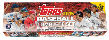 2015 Topps Baseball Complete Factory Set 1