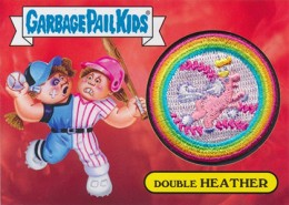 2015 Topps Garbage Pail Kids Patch Relic