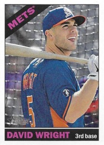 2015 Topps Heritage Color Swap 459 David Wright