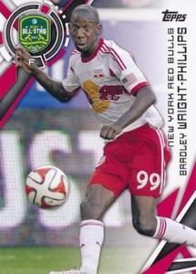 2015 Topps MLS Base Bradley Wright-Phillips 200