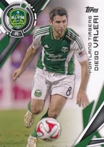 2015 Topps MLS Base Diego Valeri 197