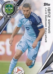 2015 Topps MLS Base Graham Zusi 182