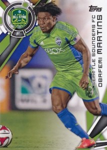 2015 Topps MLS Base Obafemi Martins 186