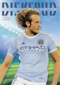 2015 Topps MLS Soccer Presence of the Pitch Mix Diskerud