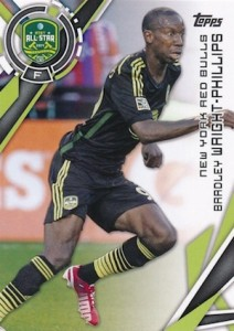 2015 Topps MLS Variation Bradley Wright-Phillips 200