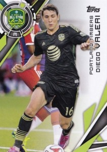 2015 Topps MLS Variation Diego Valeri 197