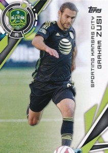 2015 Topps MLS Variation Graham Zusi 182
