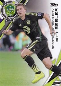 2015 Topps MLS Variation Matt Besler 192