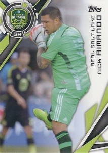 2015 Topps MLS Variation Nick Rimando 181
