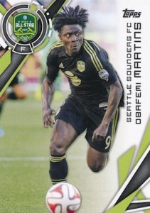 2015 Topps MLS Variation Short Prints Guide 12
