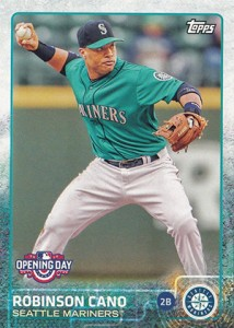 2015 Topps Opening Day 144 Robinson Cano
