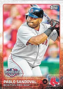 2015 Topps Opening Day 18 Pablo Sandoval