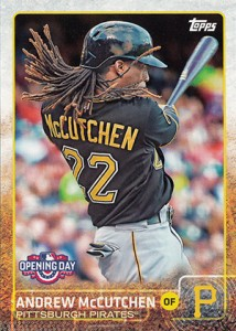2015 Topps Opening Day 66 Andrew McCutchen