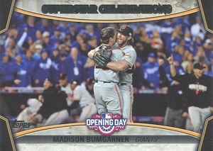 2015 Topps Opening Day Baseball Cards 34