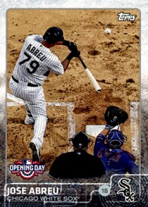 2015 Topps Opening Day Variation 105 Jose Abreu