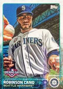 2015 Topps Opening Day Variation 144 Robinson Cano