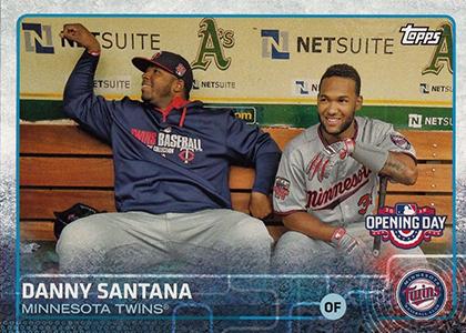 2015 Topps Opening Day Variation 30 Danny Santana
