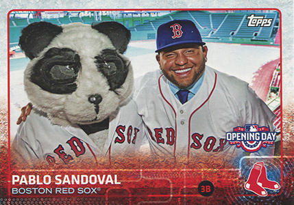 2015 Topps Opening Day Variation Pablo Sandoval