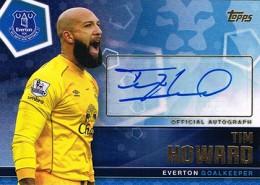 2015 Topps Premier Club Soccer Tim Howard Autograph
