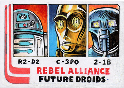 When Star Wars Met Topps History: Interview with Artist Jason Crosby 2