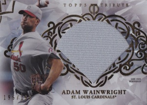 2015 Topps Tribute Baseball Diamond Cut Relics