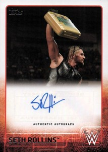 Top Seth Rollins Wrestling Cards 6