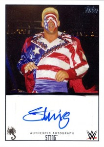 2015 Topps WWE Autographs Sting