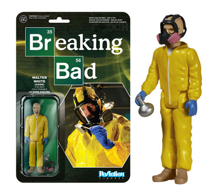 Funko Breaking Bad ReAction Figures Walter White Cook