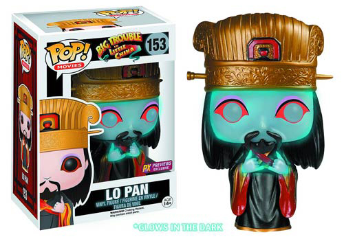 Funko Pop Big Trouble in Little China 153 Lo Pan Glow in the Dark