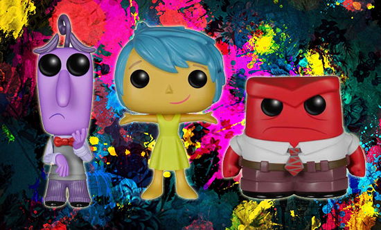 2015 Funko Pop Disney Inside Out Vinyl Figures 1