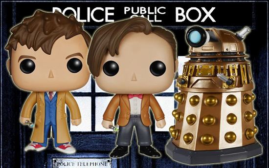 Ultimate Funko Pop Doctor Who Vinyl Figures Gallery and Guide 1