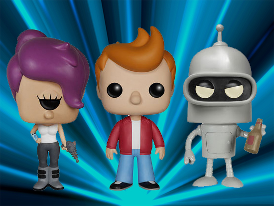 Funko Pop Futurama Checklist Gallery Exclusives List