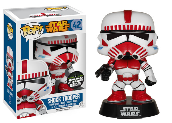 Funko Pop Star Wars 42 Shock Trooper