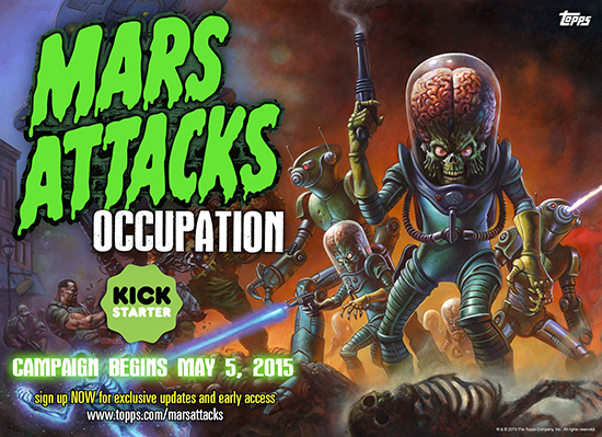 Mars Attacks Occupation Kickstarter Announcement