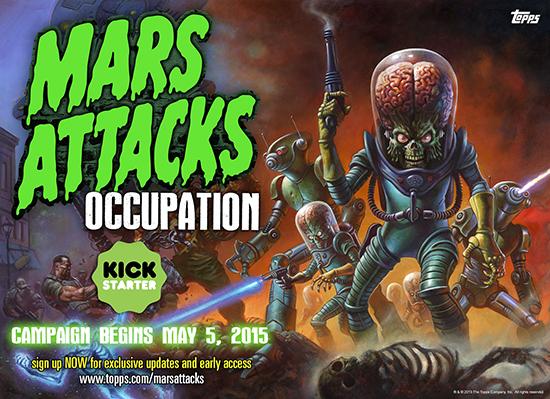 Mars Attacks Kickstarter in May 1