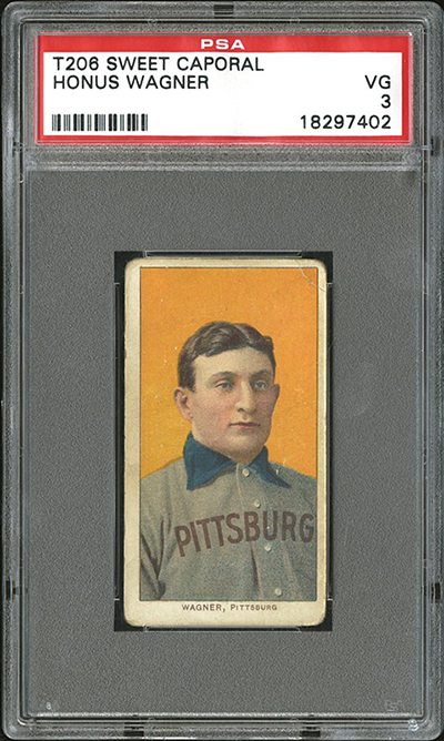 PSA 3 T206 Honus Wagner Sells for $1.3 Million 1