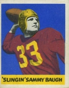 Sammy Baugh Rookie Cards Guide and Checklist  3